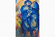 1945 Marc Turm der blauen Pferde-118