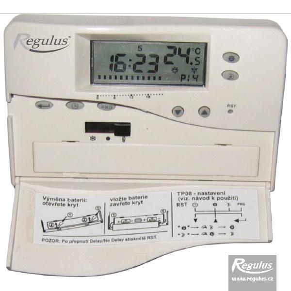 TP 08 izbový termostat programovateľný