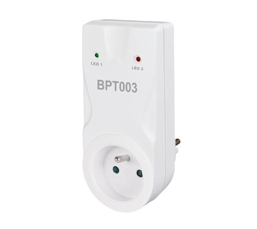 BPT 003 -- bezdrôtový príjimač k termostatu do zásuvky