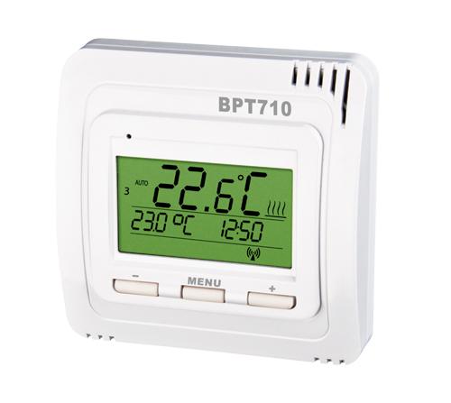 BPT710 -- Izbový bezdrôtový termostat