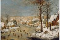 18467 Brueghel Winterlandschaft mit Schlittschuhlaeufern-138