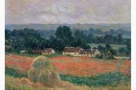 21735 Monet Heuhaufen in Sommerlandschaft bei Giverny-145