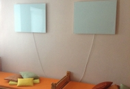 DIGELHEAT Infrapanel - dekoračné sklo Byt Nová Baňa